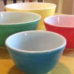 Pyrex Primary Colour Mixing Bowls